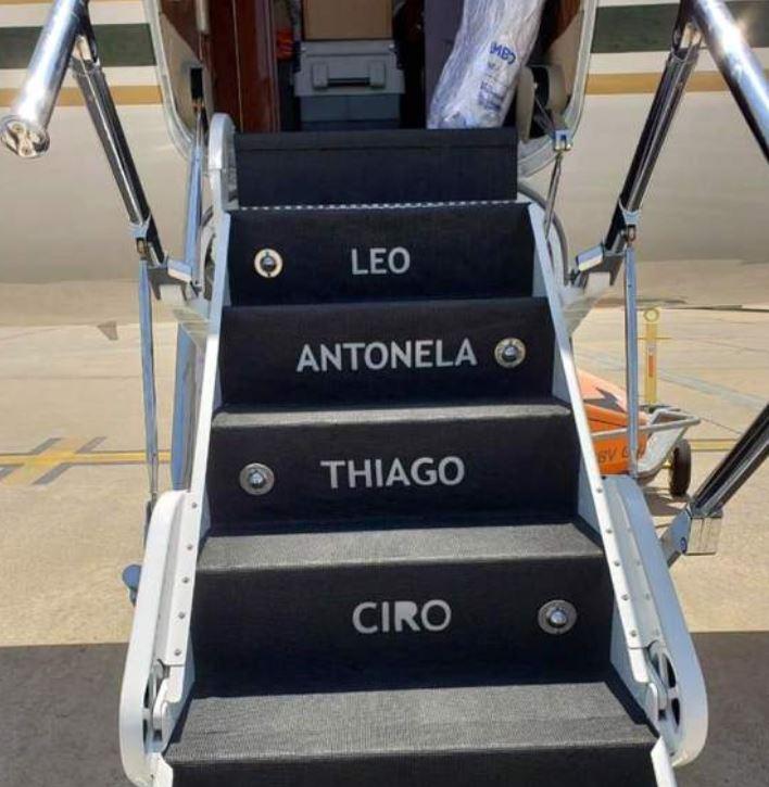 У футболиста Лео Месси появился новый самолет