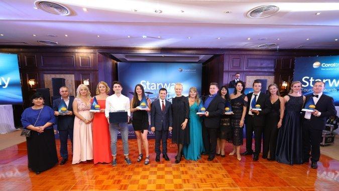 Coral Travel в 11-й раз наградил лучших: Starway Tourism Awards 2018