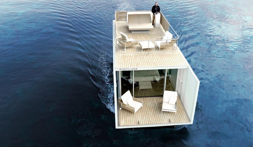 В Валенсии появился первый в Испании плавучий отель