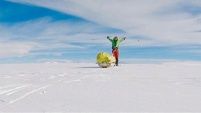 Взять Антарктиду в одиночку. Жизнь круче Голливуда