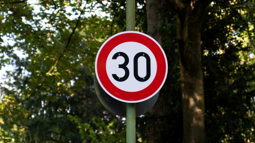 В 2019 году максимально допустимую скорость в испанских городах ограничат до 30 км/час
