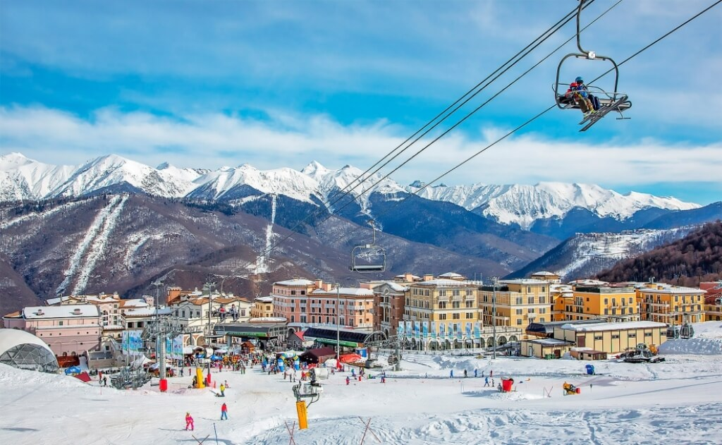В Сочи стартовал горнолыжный сезон