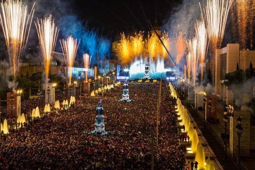 Nochevieja в Барселоне: афиша праздничных мероприятий