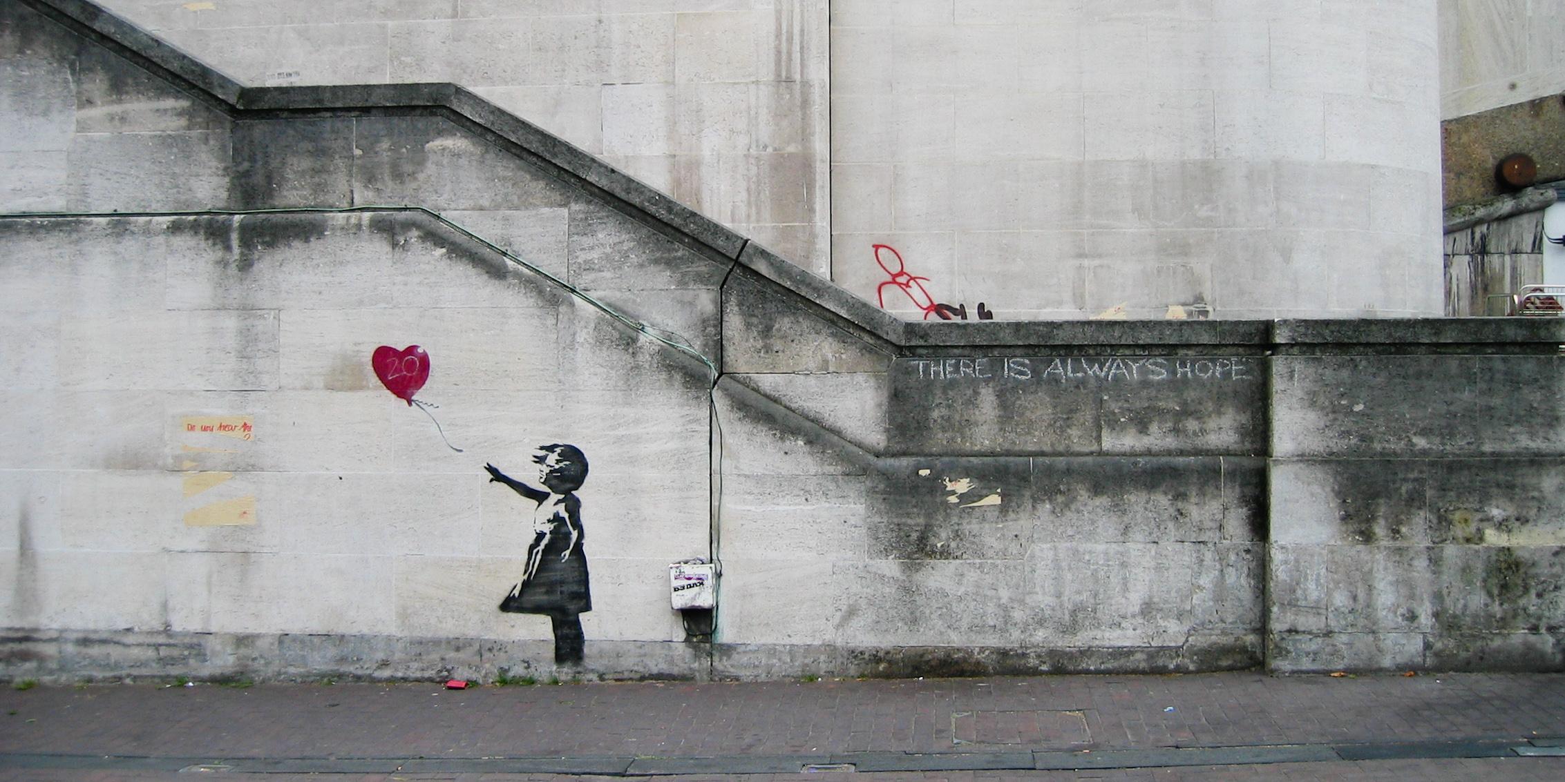 «Уличное» искусство Бэнкси прибудет в Мадрид на День Конституции