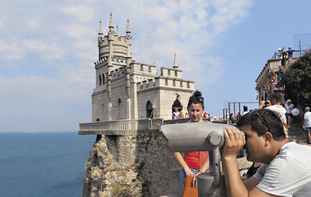 В Крыму отдохнули более миллиона украинских туристов