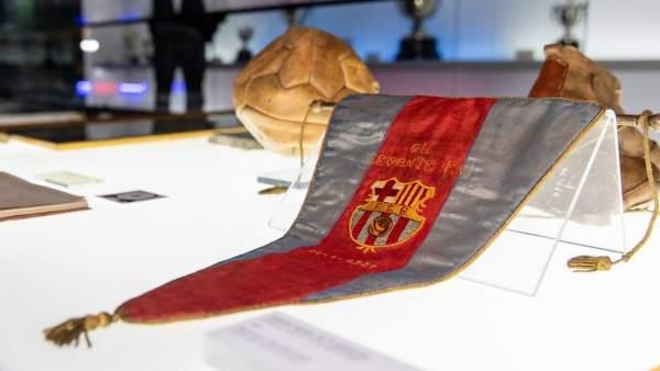 В музей «Барселоны» передали вымпел с матча 1937 года