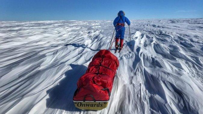Британец стал вторым человеком, который пересек Антарктиду в одиночку