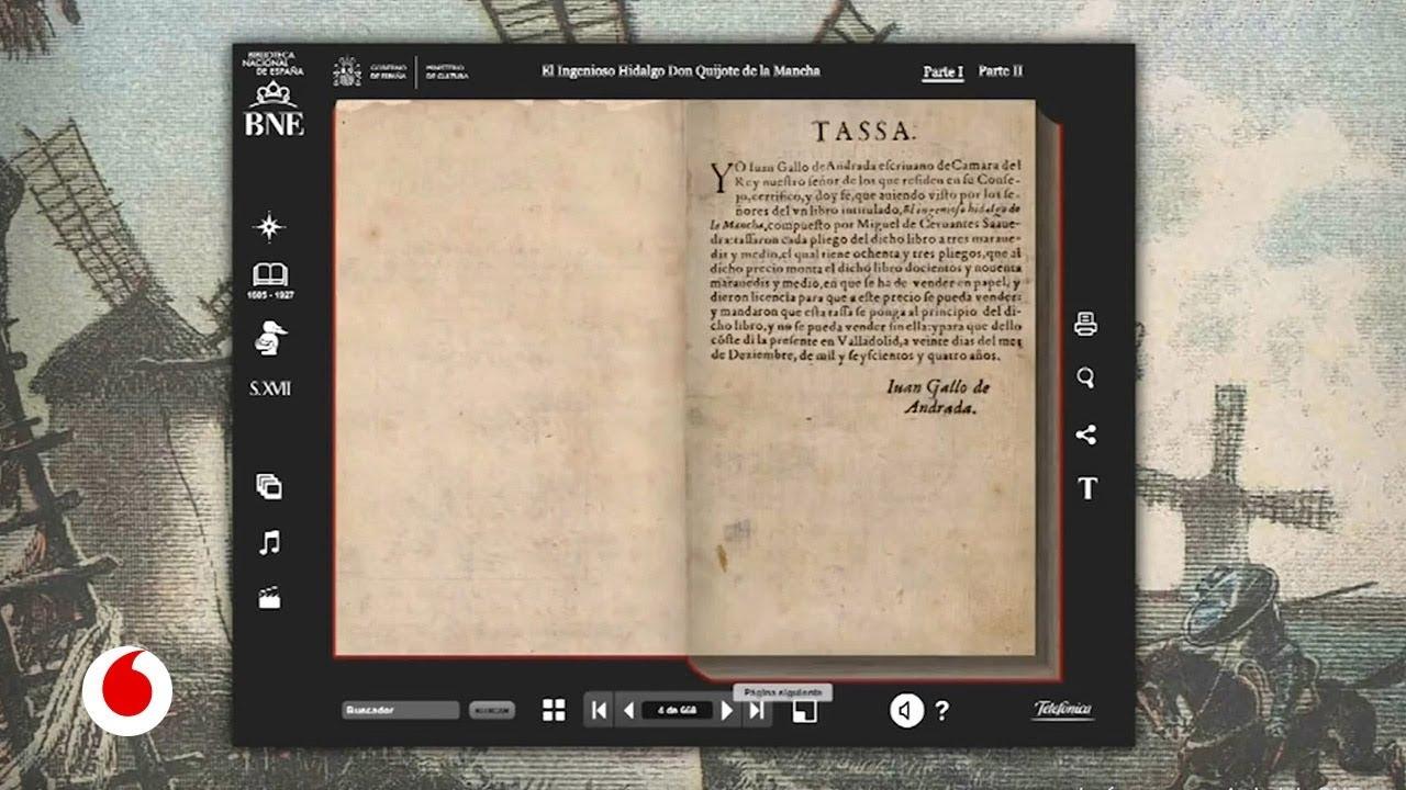 Национальная библиотека Испании оцифровывает свои архивы