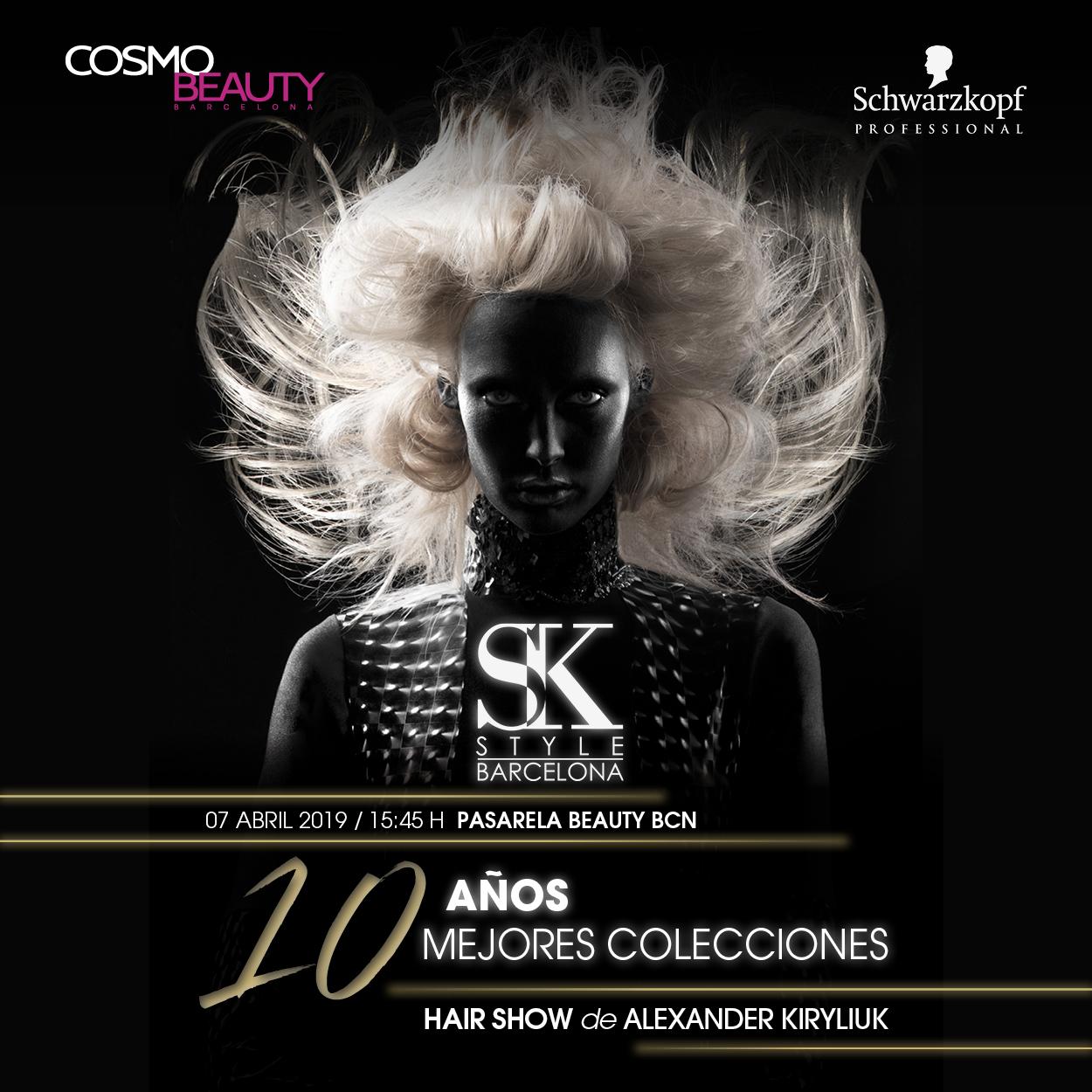 Салон красоты SK STYLE BARCELONA отпразднует свое 10-летие грандиозным шоу на выставке Cosmobeauty