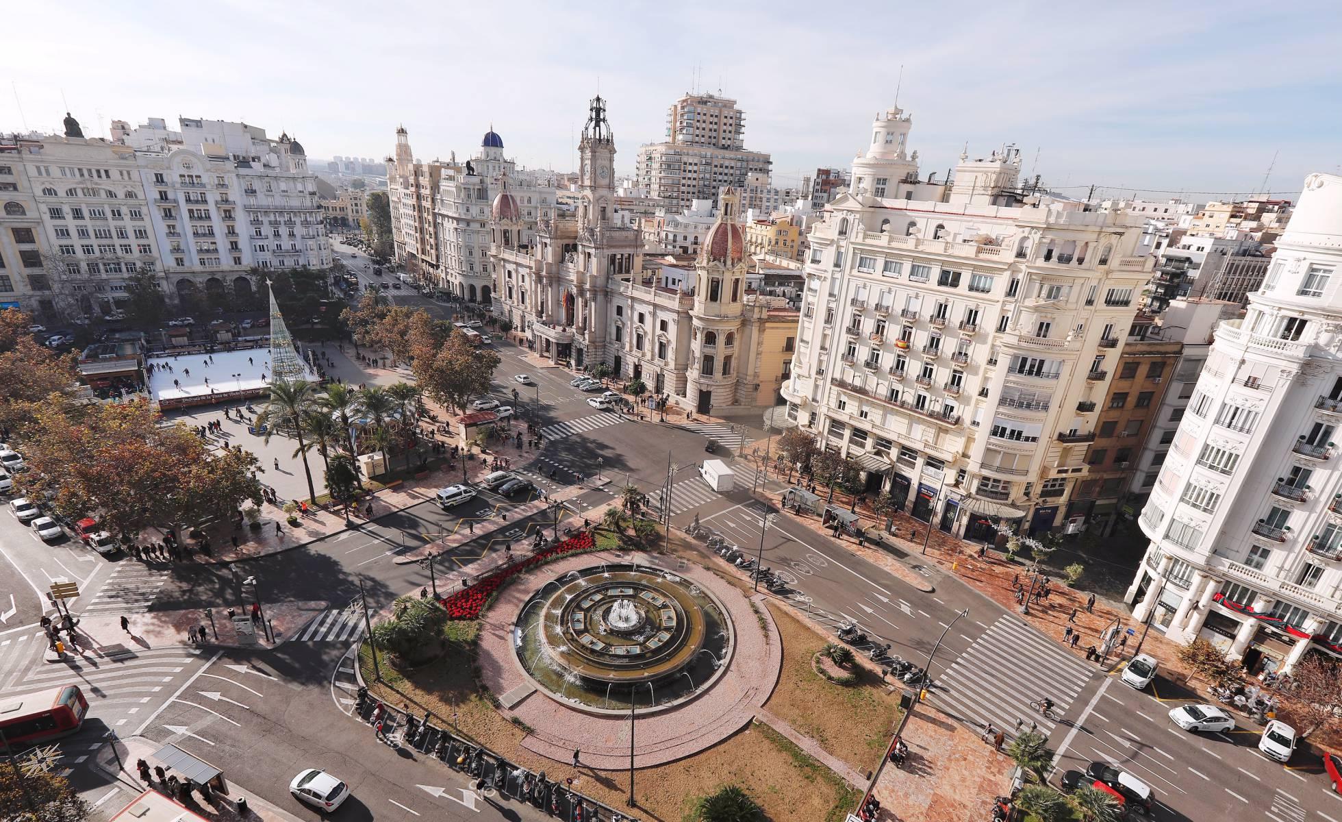 Центр Валенсии станет пешеходным