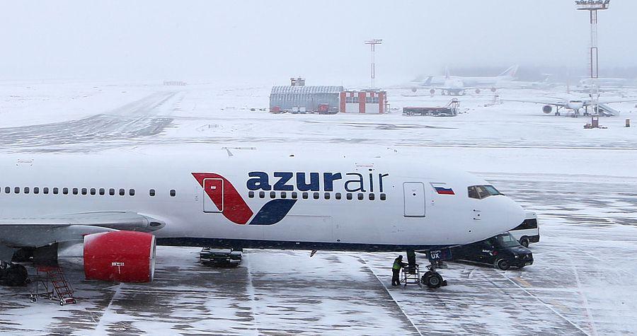 Анекс отменяет все рейсы Azur Air из Перми в Дубай