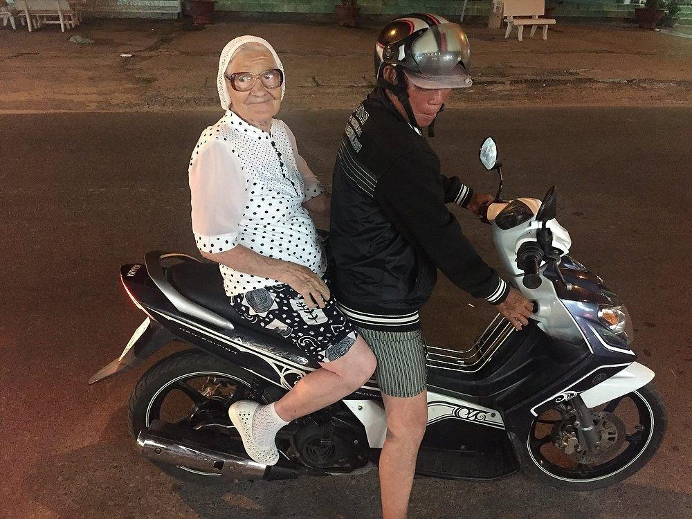 Умерла старейшая российская туристка