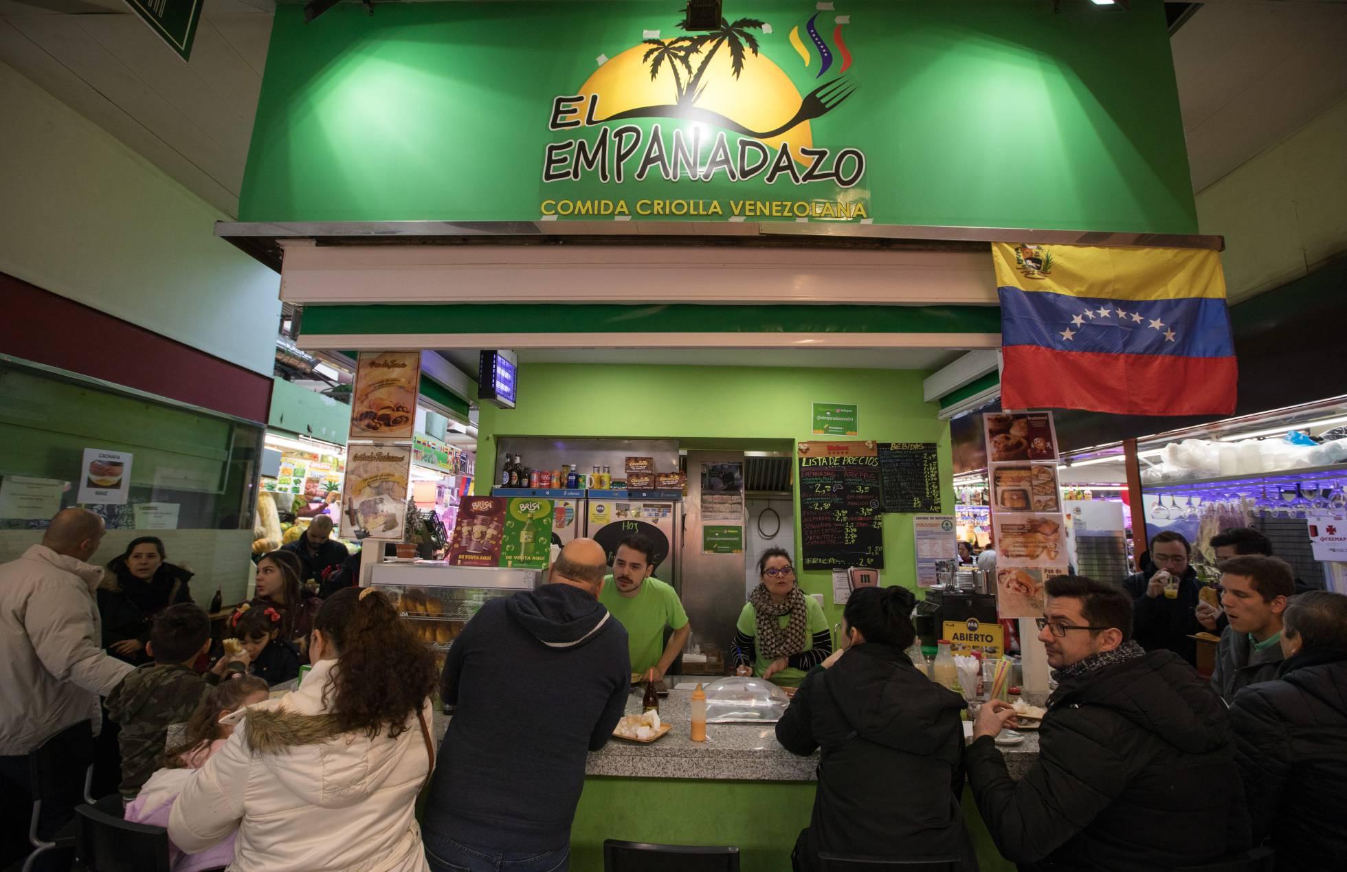 Популярный уголок Венесуэлы в Мадриде