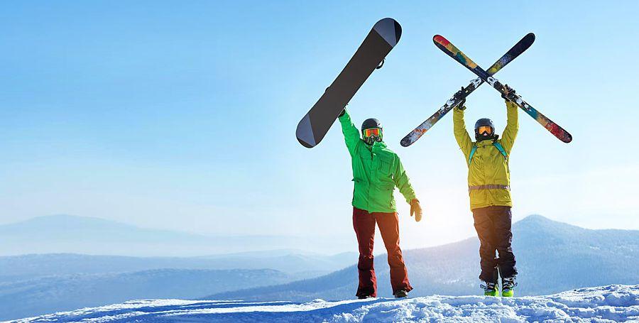 Исследование: горнолыжники путешествуют чаще сноубордистов, и тратят больше