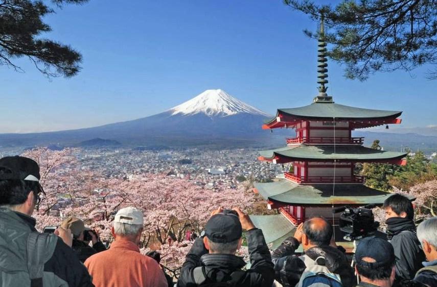 В 2018 году Японию посетили 94 800 российских туристов