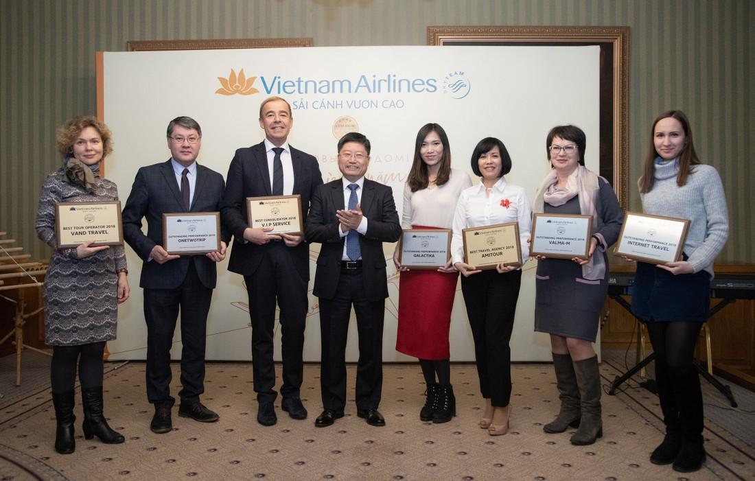 «Вьетнамские Авиалинии» подвели итоги года и наградили лучших партнеров: Ванд, Амитур и ВИП-Сервис