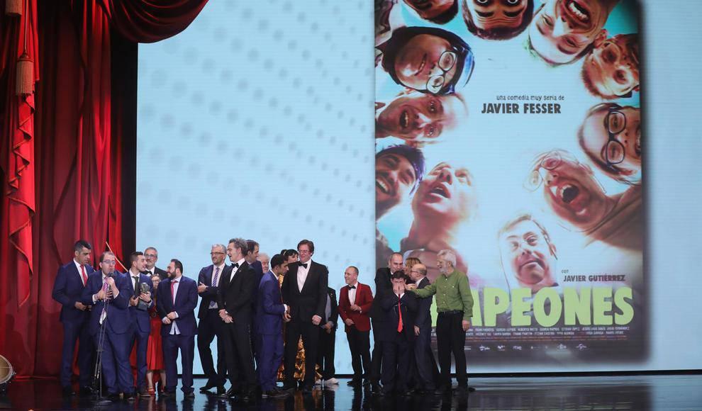 Комедия Хавьера Фессера «Чемпионы» получила премию «Гойя» в номинации лучший фильм