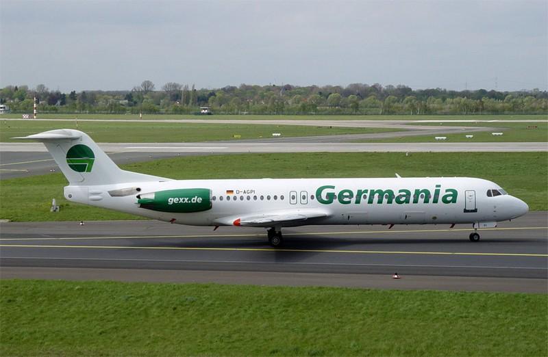 Авиакомпания Germania заявила о банкротстве
