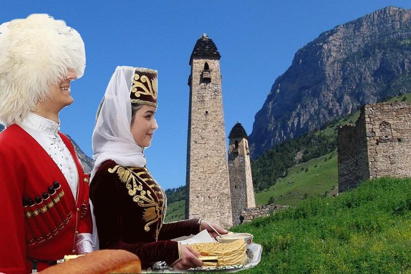 В Ингушетии отчитались о 60 тысячах туристов