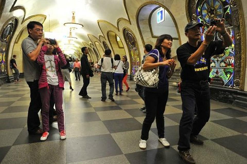 В России выросло число самостоятельных китайских туристов