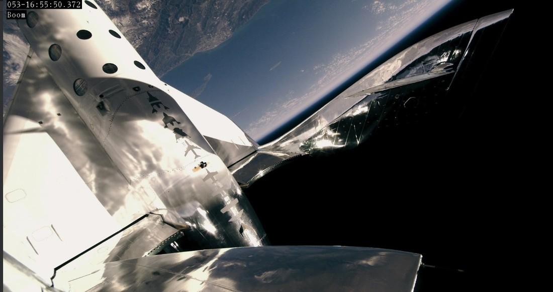 Virgin Galactic сообщила об успешном испытании корабля для космических туристов