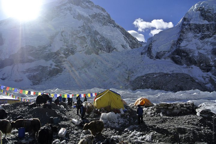 Китай закрыл для туристов базовый лагерь Эвереста. Гора заросла мусором