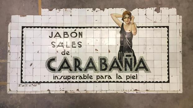Новая жизнь старинного рекламного объекта в метро Мадрида