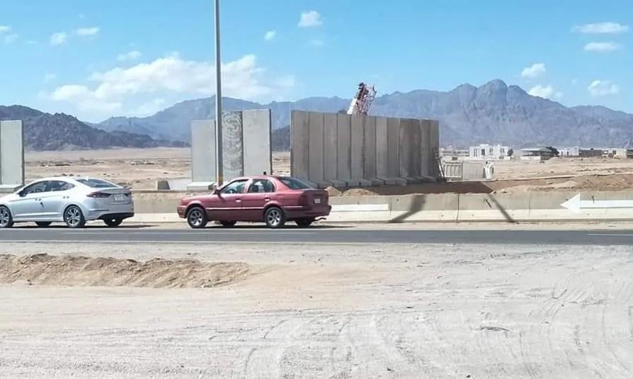 Власти Шарм эль Шейха: «Это не стена, кто сказал вам, что это стена?»