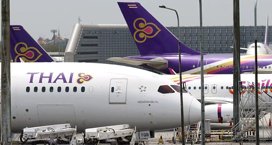 Thai Airways временно отменила рейсы в Москву и Европу