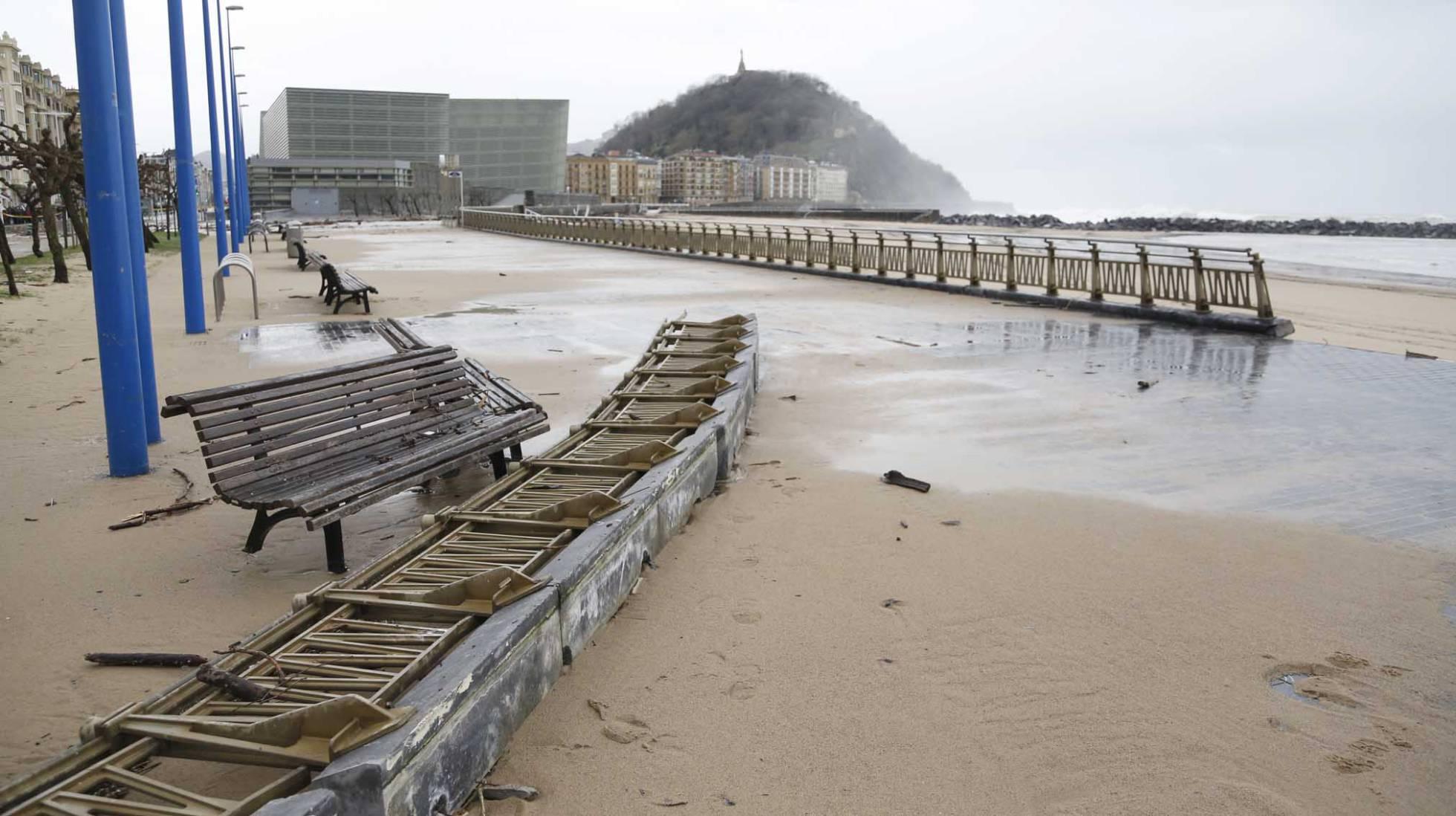 40 муниципалитетов Страны Басков пострадают от экстремальных климатических феноменов
