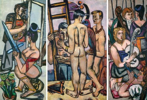 В Барселоне впервые проходит выставка выдающегося немецкого художника Макса Бекмана
