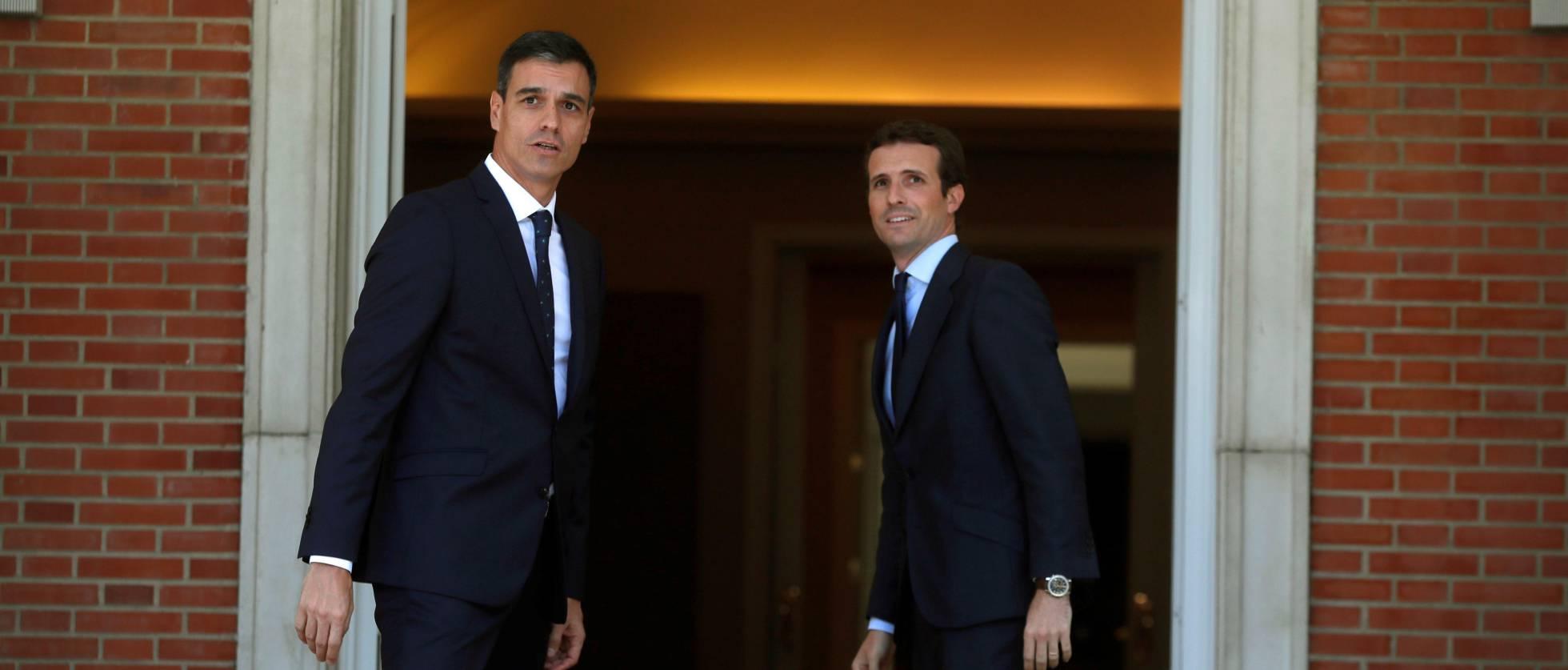 Первые предвыборные обещания: Санчес делает ставку на социальные меры, Касадо – на снижение налогов