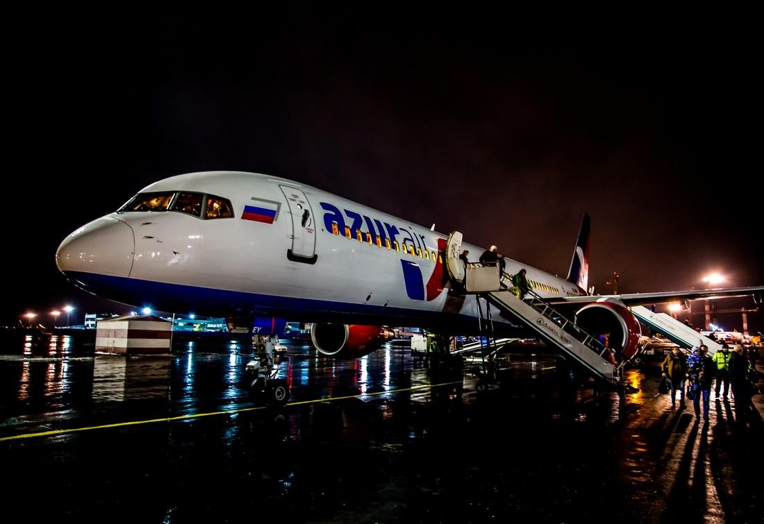 У авиакомпании AzurAir Анекс-Тура началась череда задержек