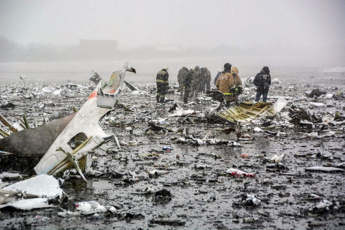 В Ростове вспоминают жертв катастрофы Flydubai