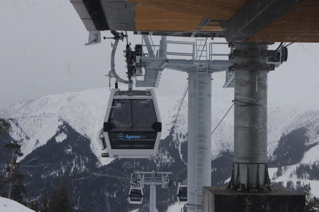 Курорт Архыз: число туристов-горнолыжников выросло на 30%