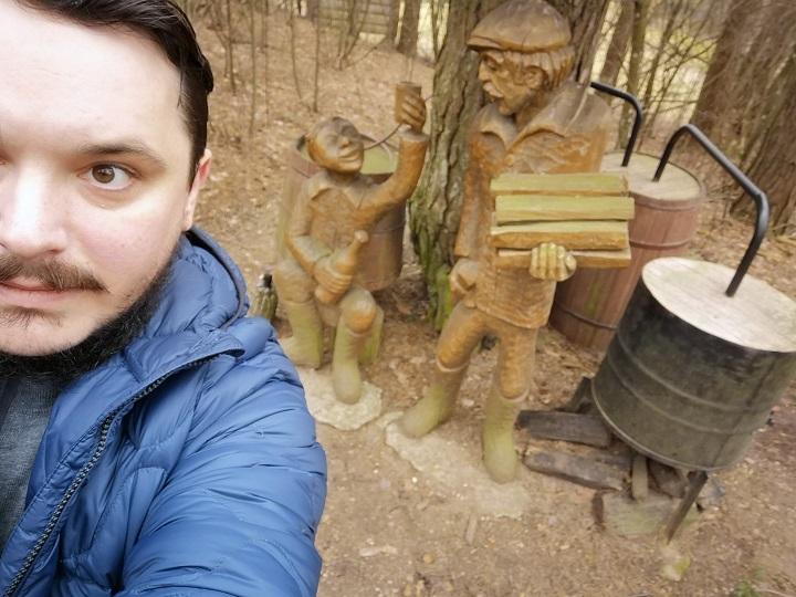 Весенний позитив: необычное селфи в Друскининкае