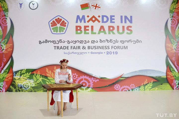 «На белорусских специалистов идут как на топовых врачей». Чем удивляет Made in Belarus в Тбилиси