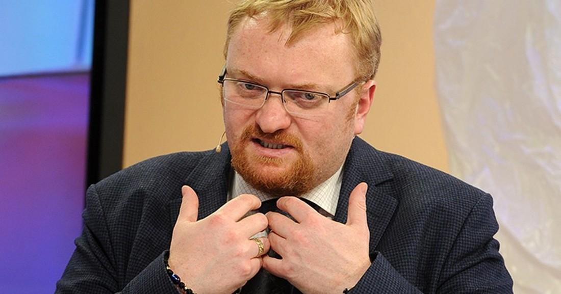 Депутат Милонов потратил собственные средства на моральное воспитание российских туристов
