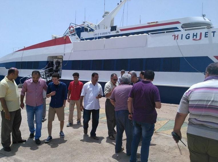 Между Хургадой и Шарм эль Шейхом возобновляется регулярное сообщение по морю