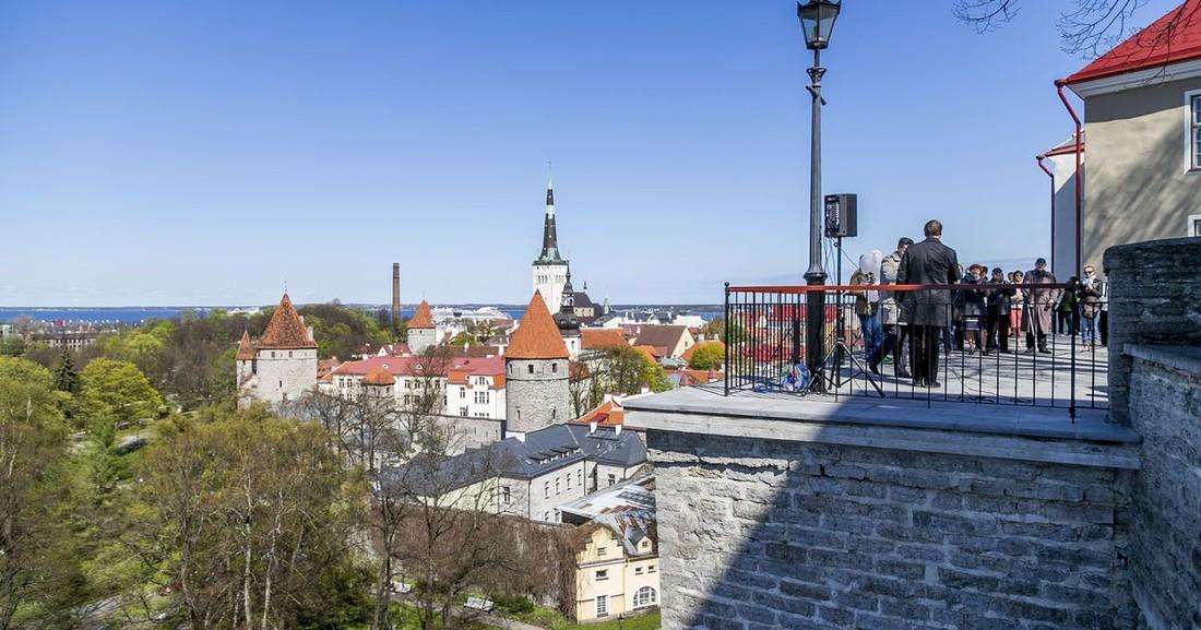 Число российских туристов в Эстонию выросло на 5%
