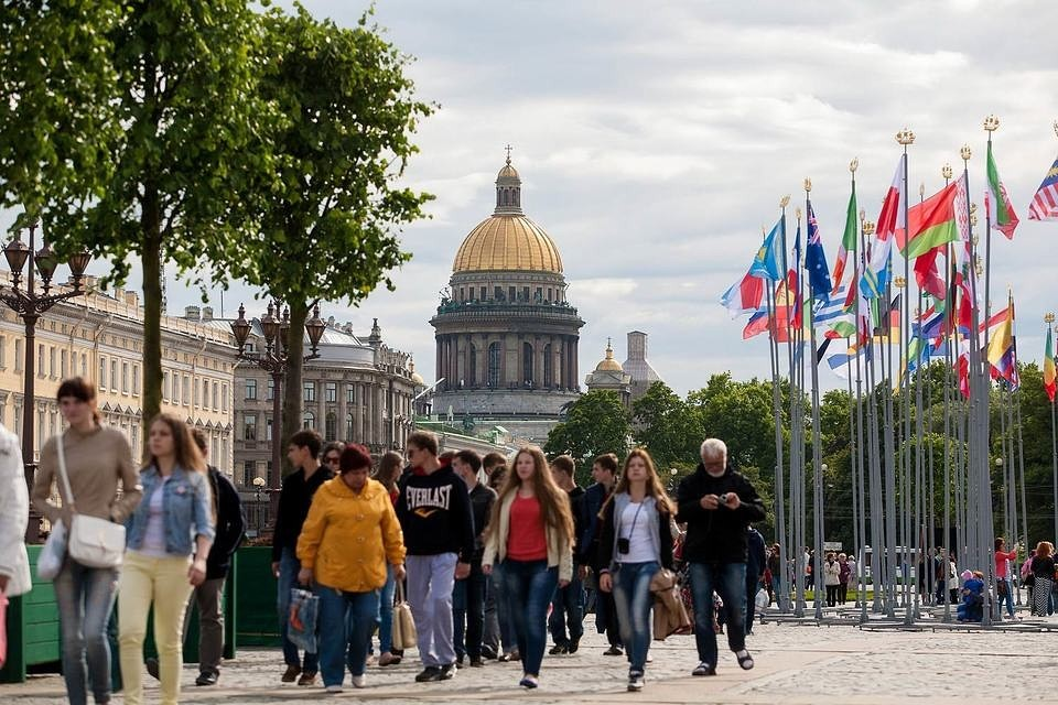Санкт-Петербург поставил рекорд по турпотоку – 8.2 млн человек