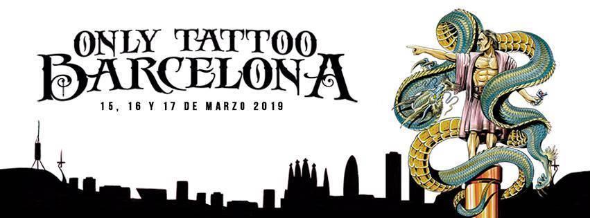 С 15 по 17 марта в столице Каталонии пройдет салон Only Tattoo Barcelona 2019