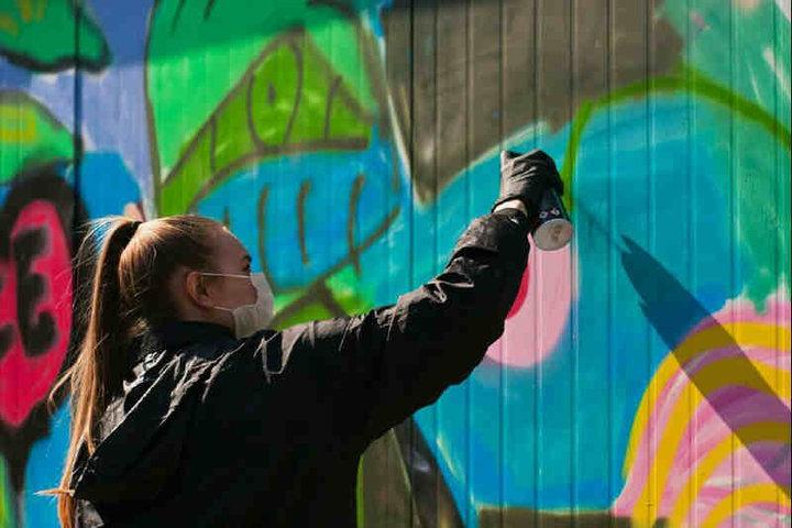 В Молодечно создают «улицу стритфуда» с граффити и сценой