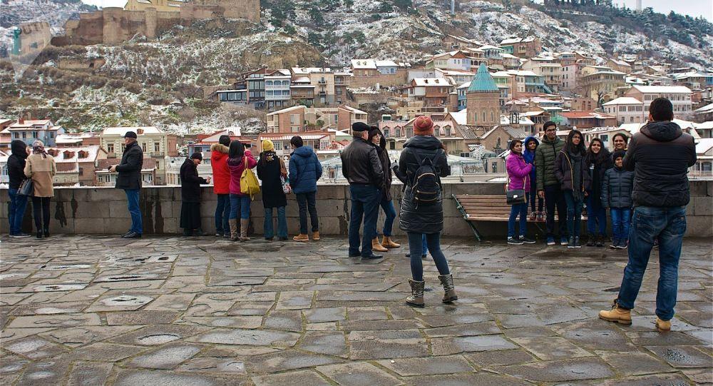 В Грузии за март насчитали более 600 тыс. туристов