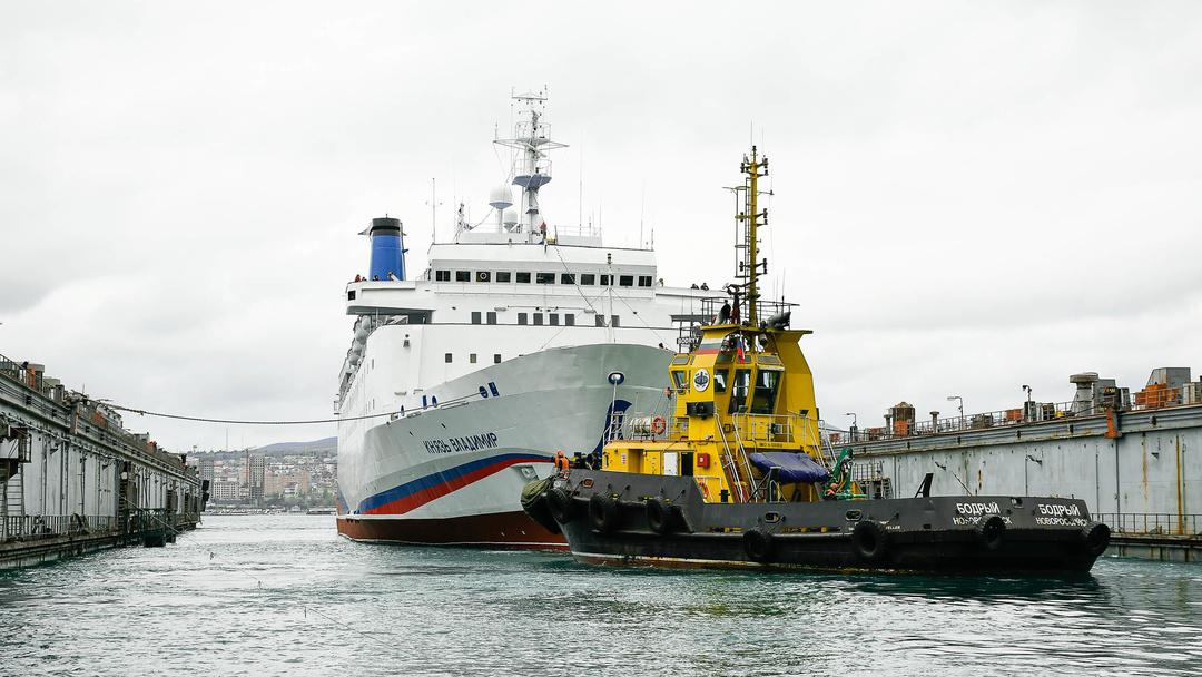 Ремонт лайнера «Князь Владимир» завершен, первый круиз намечен на 28 апреля