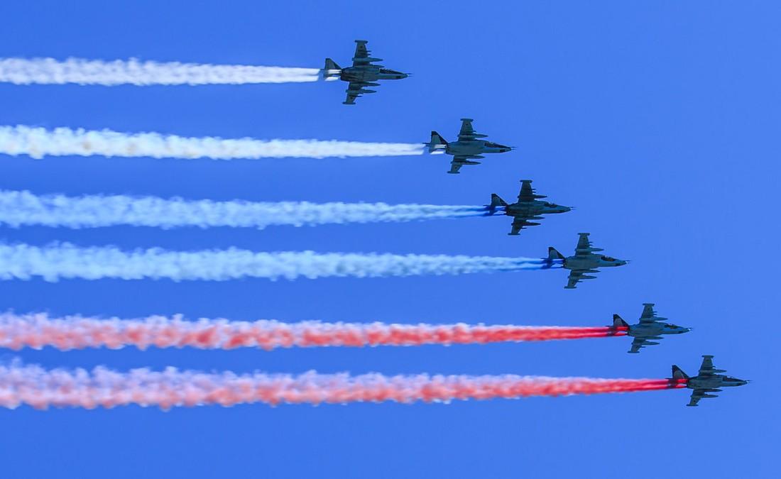 Над Москвой «закроют небо» из-за репетиций Парада Победы