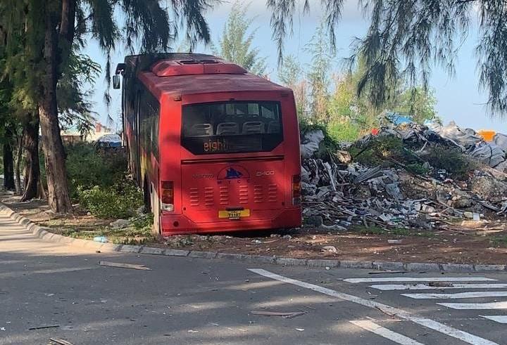 Автобус проехал по туристке на Мальдивах