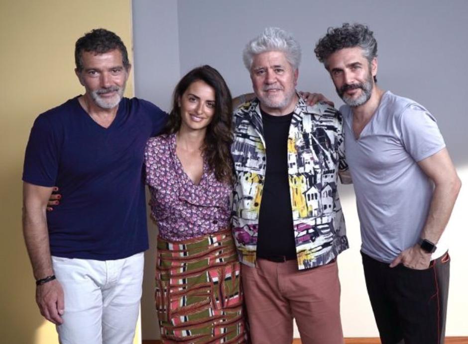 Испанский кинорежиссер Педро Альмодовар представил на Каннском кинофестивале картину «Боль и слава»
