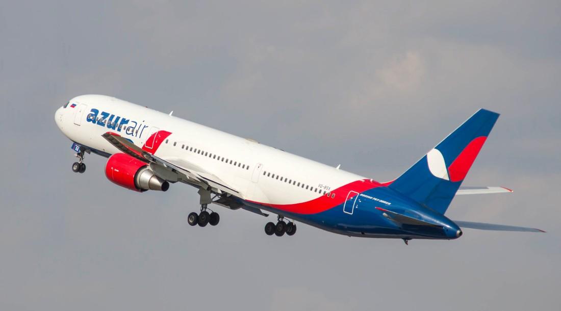 Azur air начинает возить китайских туристов в Россию