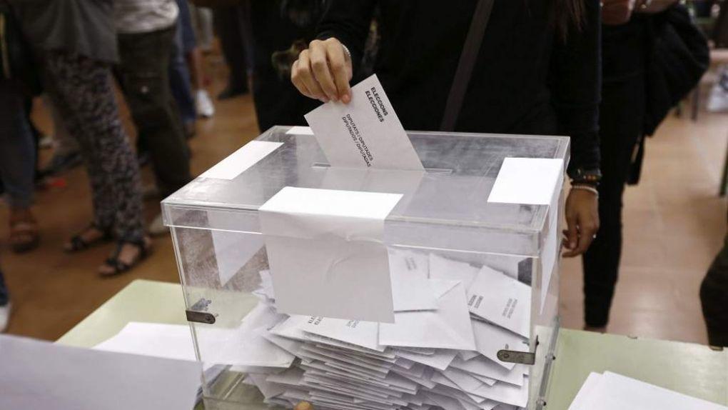 Первые урны для голосования в Испании без использования каменного угля